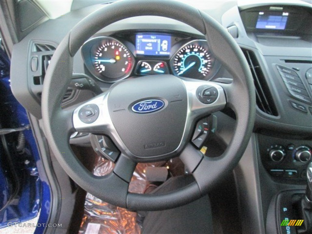 2014 Escape S - Deep Impact Blue / Charcoal Black photo #14