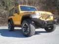 2012 Dozer Yellow Jeep Wrangler Sport 4x4 #90185955