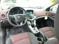 Jet Black/Sport Red 2012 Chevrolet Cruze Interiors