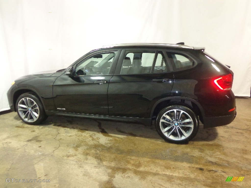 black sapphire metallic 2013 bmw x1 xdrive 35i exterior photo 90250992. Black Bedroom Furniture Sets. Home Design Ideas