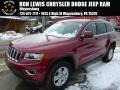 Deep Cherry Red Crystal Pearl 2014 Jeep Grand Cherokee Laredo 4x4