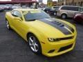 Bright Yellow 2014 Chevrolet Camaro Gallery