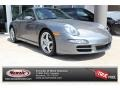 Seal Grey Metallic 2006 Porsche 911 Carrera Coupe