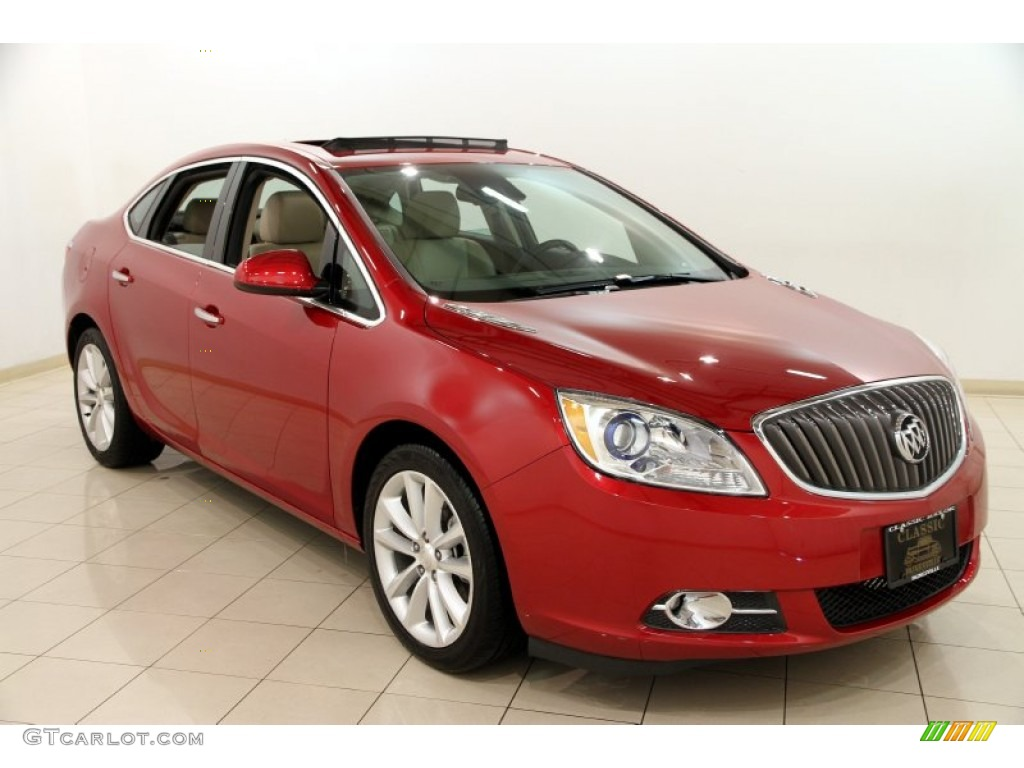 2014 crystal red tintcoat buick verano convenience 90277223 car color galleries. Black Bedroom Furniture Sets. Home Design Ideas