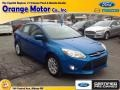 2012 Blue Candy Metallic Ford Focus SE Sedan #90277146