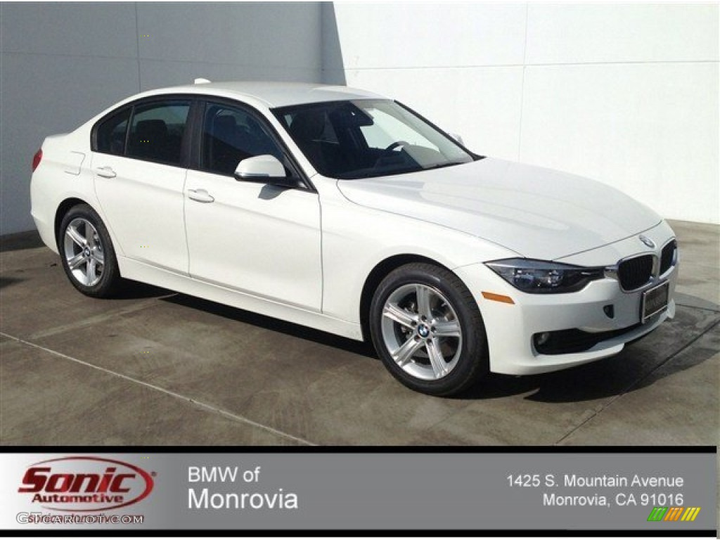 2014 alpine white bmw 3 series 320i xdrive sedan 90277181 car color galleries. Black Bedroom Furniture Sets. Home Design Ideas