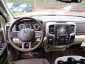 Canyon Brown/Light Frost Beige Dashboard Photo for 2014 Ram 1500 #90308676