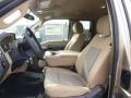 2014 Ford F250 Super Duty Adobe Interior Front Seat Photo