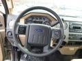 2014 Ford F250 Super Duty Adobe Interior Steering Wheel Photo