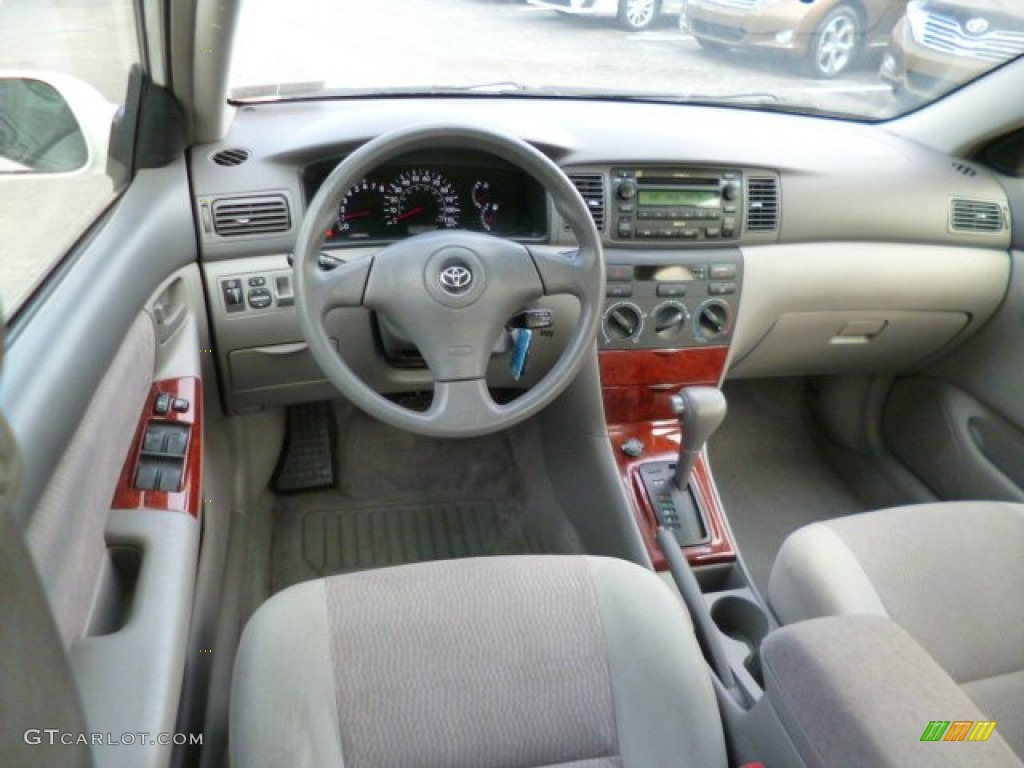 gray interior 2007 toyota corolla le photo 90313257. Black Bedroom Furniture Sets. Home Design Ideas