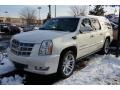 White Diamond 2009 Cadillac Escalade ESV Platinum AWD