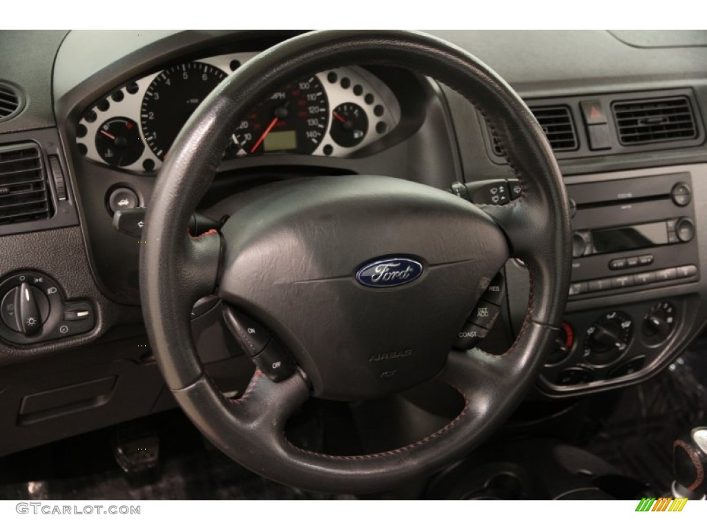 2005 ford focus zx4 st sedan steering wheel photos. Black Bedroom Furniture Sets. Home Design Ideas