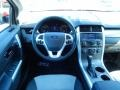 SEL Appearance Charcoal Black Leather/Gray Alcantara Dashboard Photo for 2014 Ford Edge #90349227