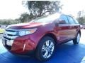 Ruby Red 2014 Ford Edge Gallery