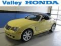 Classic Yellow 2008 Chrysler Crossfire Limited Roadster