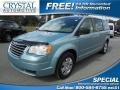 Clearwater Blue Pearl 2010 Chrysler Town & Country LX