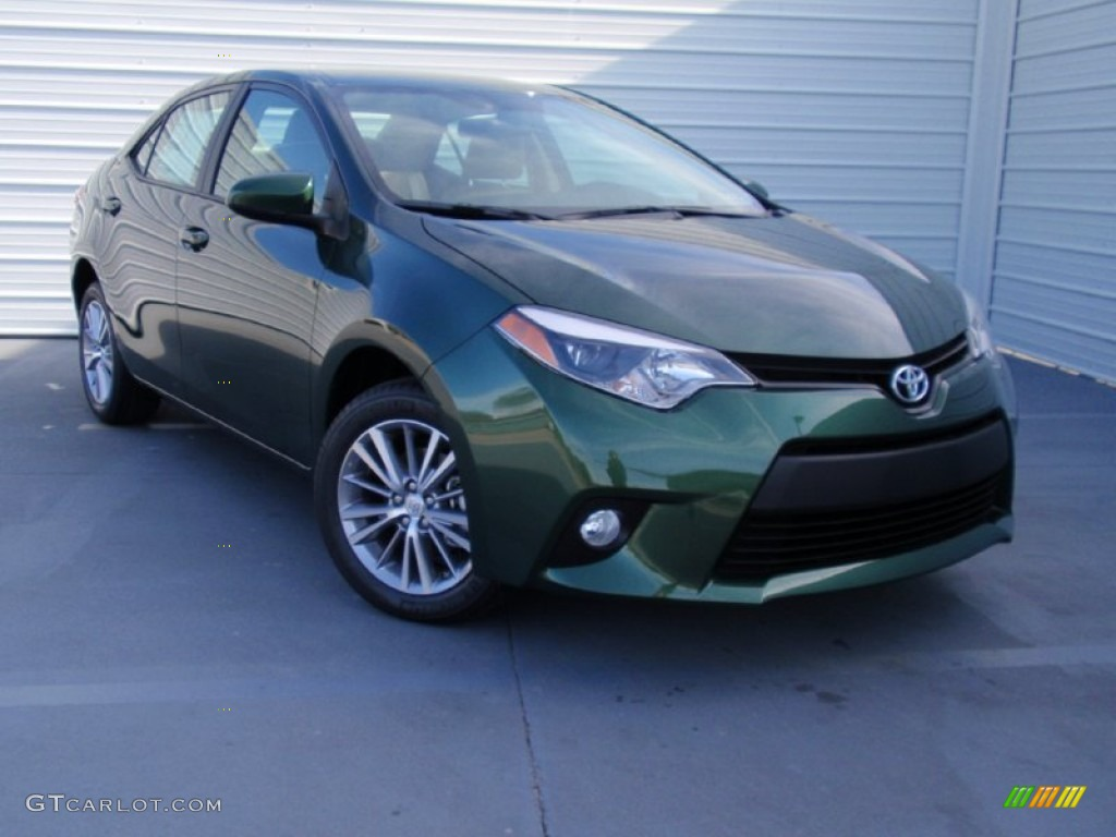 4evergreen Mica 2014 Toyota Corolla Le Exterior Photo