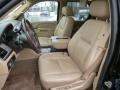 2010 Cadillac Escalade Cashmere/Cocoa Interior Front Seat Photo