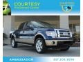 Dark Blue Pearl Metallic 2012 Ford F150 Lariat SuperCrew 4x4
