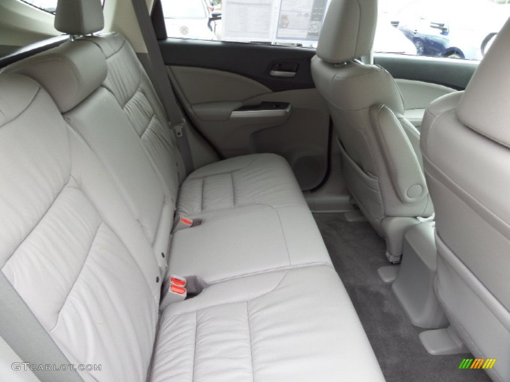 2014 CR-V EX-L - Basque Red Pearl II / Gray photo #14