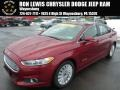 2013 Ruby Red Metallic Ford Fusion Hybrid SE #90369662