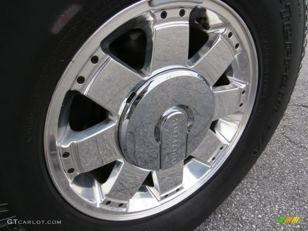 2006 Hummer H2 SUV Wheel Photos