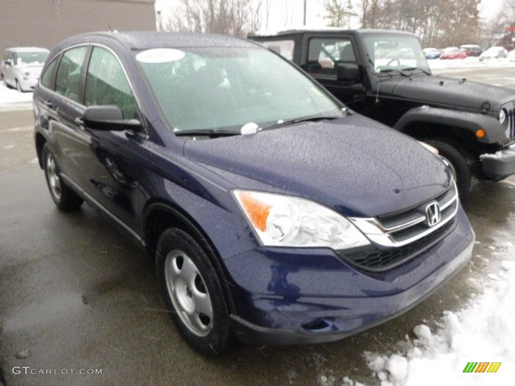 2011 CR-V LX 4WD - Royal Blue Pearl / Gray photo #1