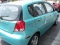 2005 Aqua Metallic Chevrolet Aveo LS Hatchback  photo #7