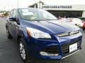 2013 Deep Impact Blue Metallic Ford Escape SEL 2.0L EcoBoost 4WD #90369459
