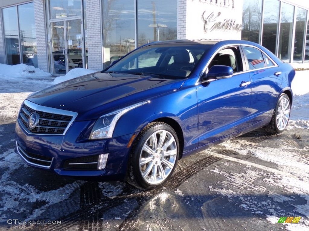 2013 Opulent Blue Metallic Cadillac Ats 3 6l Premium Awd 90369531 Car Color