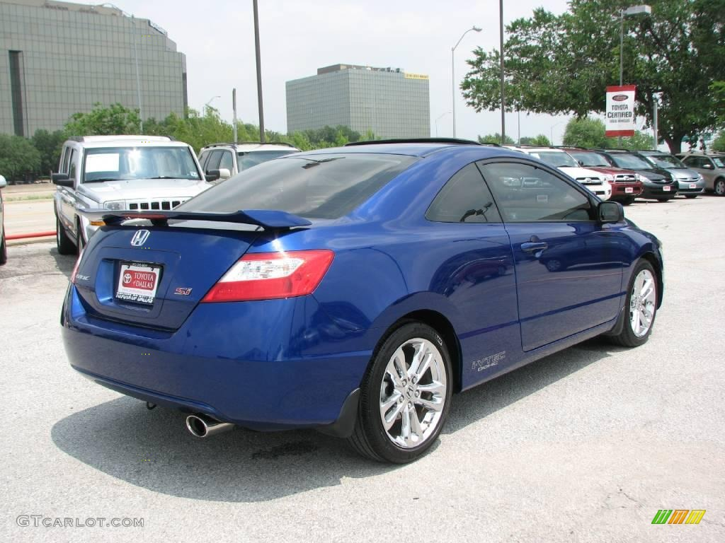 2006 fiji blue pearl honda civic si coupe 9017094 photo. Black Bedroom Furniture Sets. Home Design Ideas