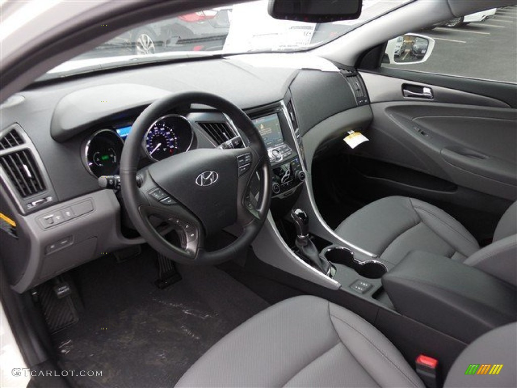 2013 Hyundai Sonata Hybrid Limited Interior Color Photos