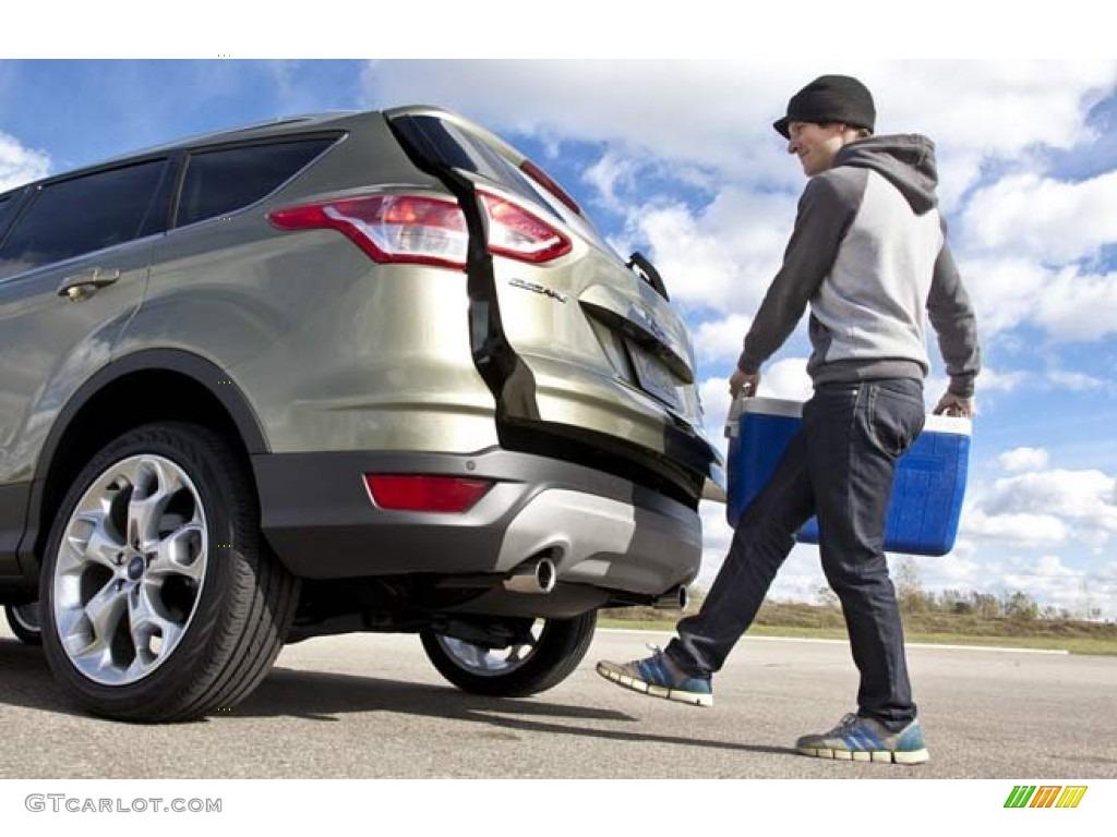 2014 Escape Titanium 2.0L EcoBoost 4WD - Sterling Gray / Charcoal Black photo #1