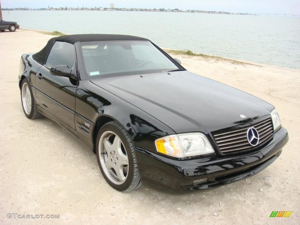 black 1999 mercedes benz sl 600 sport roadster exterior photo 90439233. Black Bedroom Furniture Sets. Home Design Ideas
