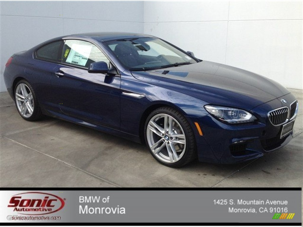 2014 bmw 6 series 640i coupe deep sea blue metallic color black. Cars Review. Best American Auto & Cars Review