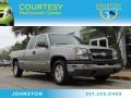Light Pewter Metallic 2003 Chevrolet Silverado 1500 LS Extended Cab