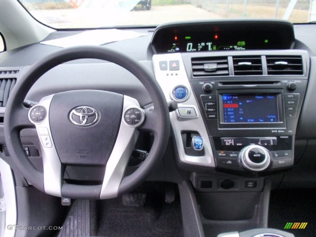 2017 Toyota Prius V Three Hybrid Dashboard Photos