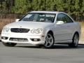 Alabaster White 2004 Mercedes-Benz CLK 500 Coupe