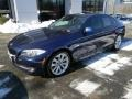 Imperial Blue Metallic 2011 BMW 5 Series 535i Sedan