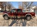 2012 Autumn Red Metallic Ford F250 Super Duty XLT Crew Cab 4x4 #90494399