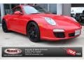 Guards Red 2011 Porsche 911 Carrera S Coupe