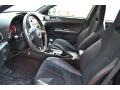 STi Black Alcantara/Carbon Black Front Seat Photo for 2013 Subaru Impreza #90504594