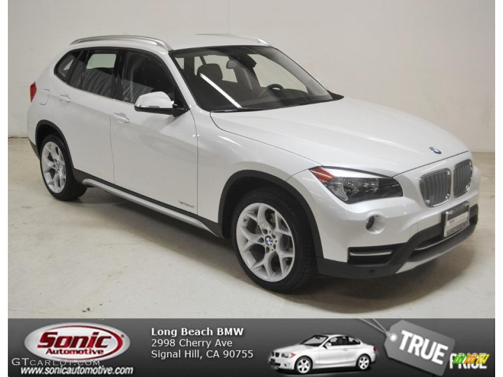2014 Mineral White Metallic BMW X1 XDrive28i 90494190