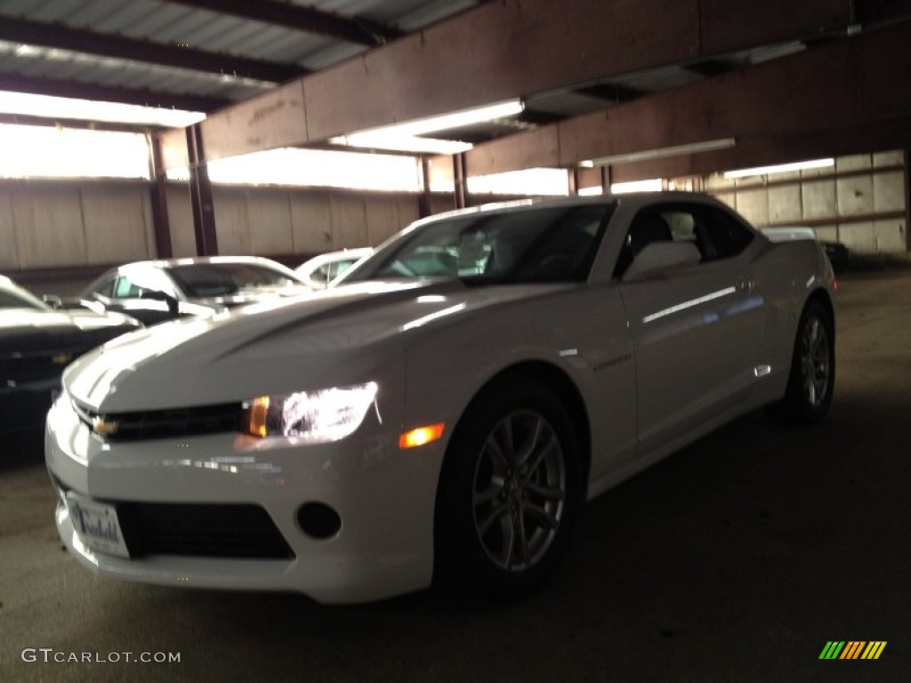 2014 Summit White Chevrolet Camaro Ls Coupe 90494107