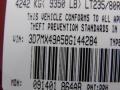 2008 Inferno Red Crystal Pearl Dodge Ram 3500 Laramie Mega Cab 4x4 Dually  photo #12