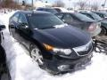 Crystal Black Pearl 2013 Acura TSX