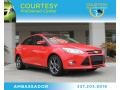 Race Red 2013 Ford Focus SE Sedan