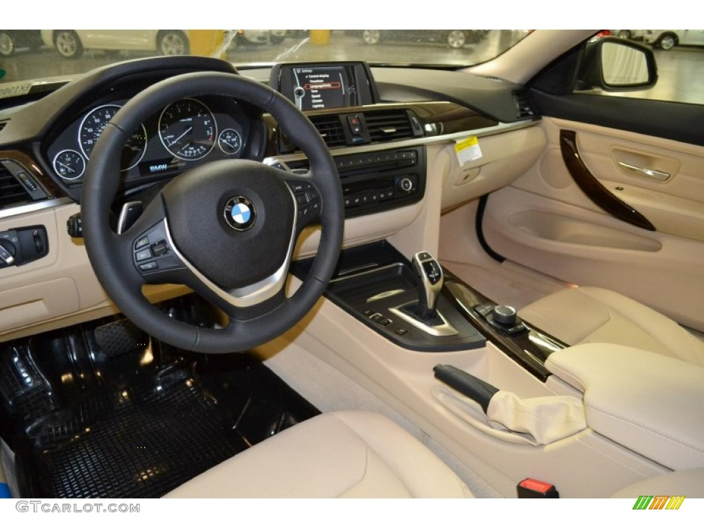 Venetian Beige Interior 2014 BMW 4 Series 435i Coupe Photo #90555158 ...