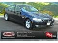 Jet Black 2012 BMW 5 Series 528i xDrive Sedan