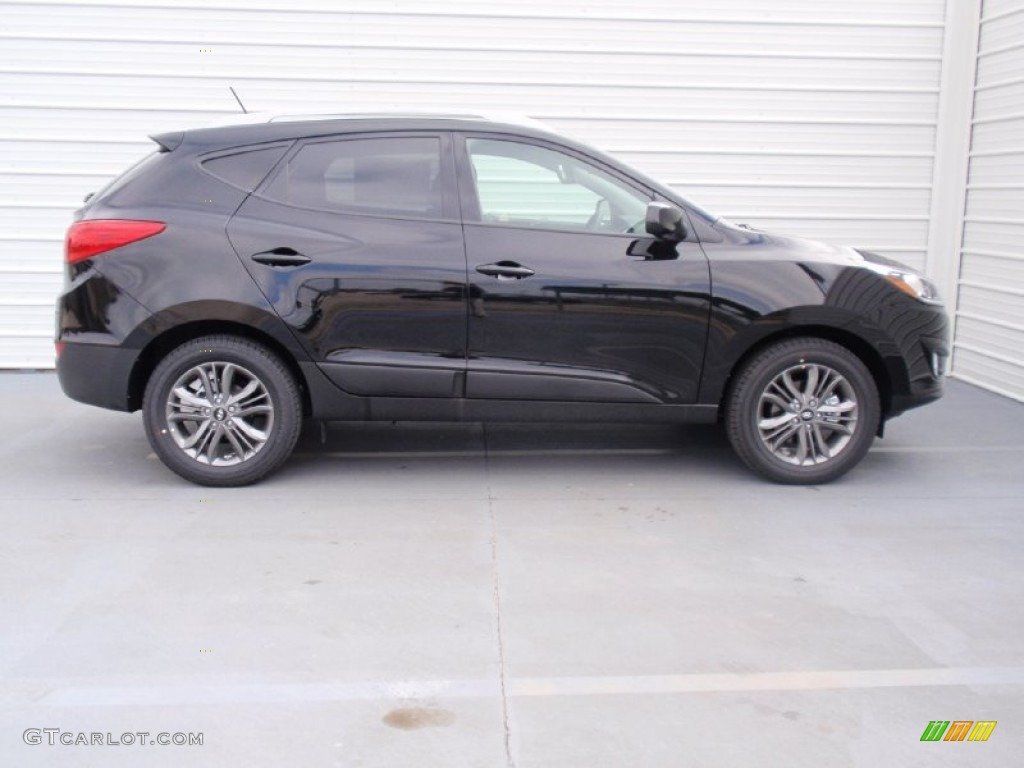 Ash Black 2014 Hyundai Tucson Se Exterior Photo 90559805